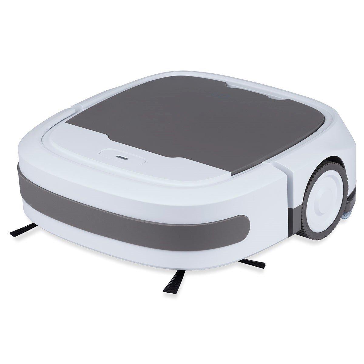GOCLEVER Comfort Cleaner Aspiradora robot con nasswischfunktion, sensores y 3 diferentes Lavado: Modo automático, espiral Modo, bordes Modo de limpieza ...