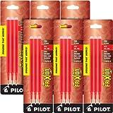 Pilot Gel Ink Refills for FriXion Erasable Gel Ink Pen, Fine Point, Red Ink, 18 total refills