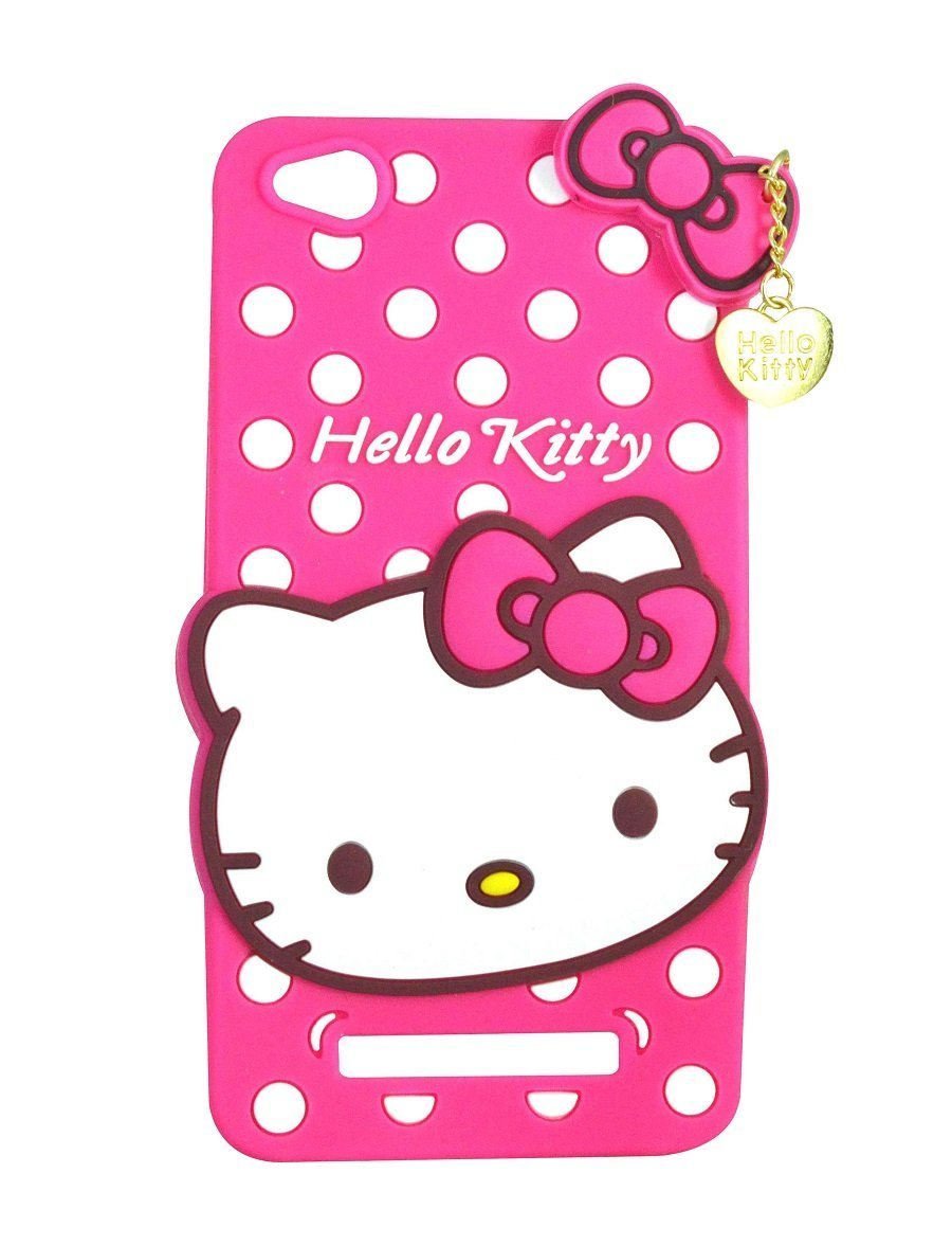 competitive price aeee3 1bae2 Anvika Hello Kitty Back Cover for Xiaomi RedMi 4A/ MI 4A - Pink