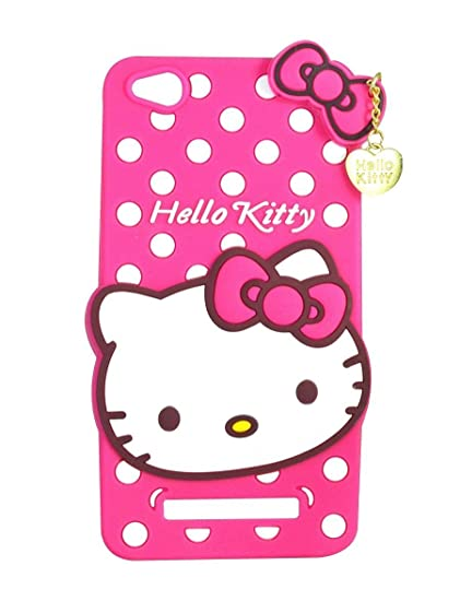 competitive price 10a3e ecddc Anvika Hello Kitty Back Cover for Xiaomi RedMi 4A/ MI 4A - Pink