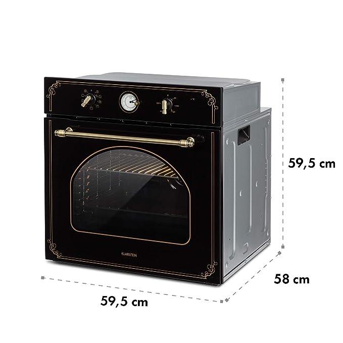Klarstein Victoria horno empotrado • horno eléctrico Negro: Amazon ...