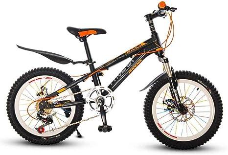 XXCZB Bicicletas Niños Bicicleta de montaña Niño Bicicleta al Aire Libre 6-7-10-12 años Niño Bicicleta Escuela Primaria Estudiantes Velocidad de Bicicleta Bicicleta de montaña-20 Pulgadas_Amarillo: Amazon.es: Deportes y aire libre
