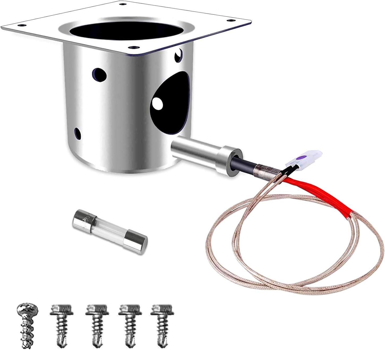 Hot Rod Igniter Fits for Traeger and Pit Boss Wood Pellet Grills Fire Burn Pot