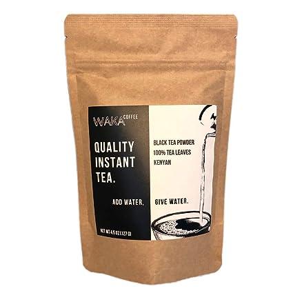 Waka té instantáneo de calidad de café, Kenyan, té negro en ...