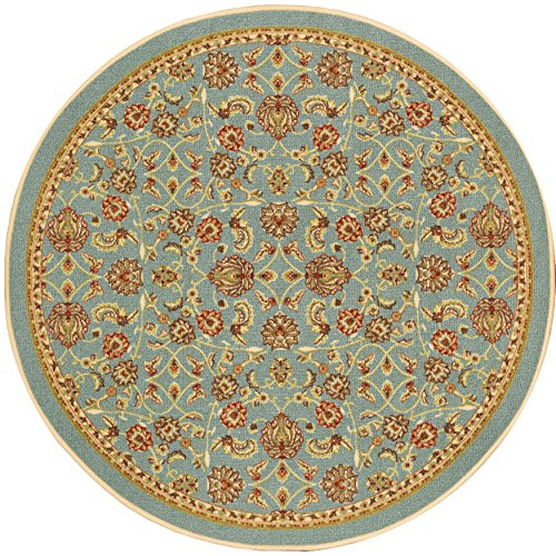 Well Woven 66364R Kings Court Tabriz Traditional Blue Oriental 4'3
