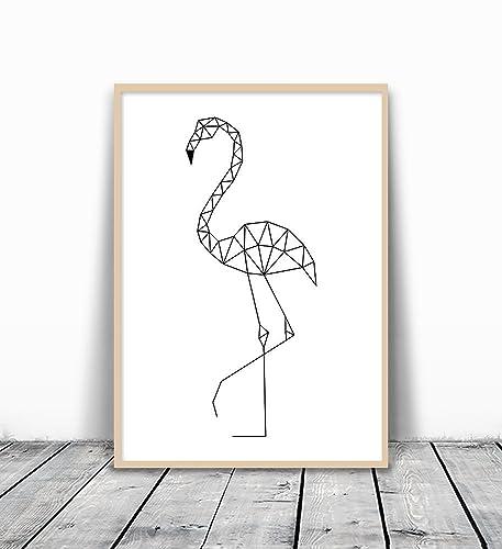 Amazon Flamingo Print Flamingo Wall Art Flamingo Art Print