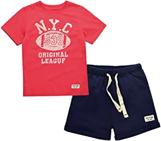 Yilaku Little Boy's Summer Cotton Shorts T-Shirts Clothing Sets(2-7years Shenzhen Tech-king Industrial Co. Ltd