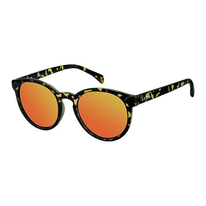 SABAI Soho- Gafas de Sol Polarizadas Marco Carey Lente Rosa ...