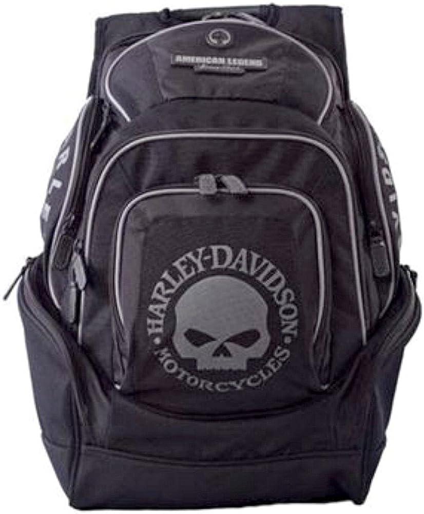 Harley-Davidson Willie G Skull Deluxe Backpack