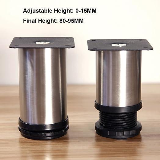 4x Cabinet Legs Kitchen Feet Worktop/Unit/Breakfast Bar/Desk Table ...