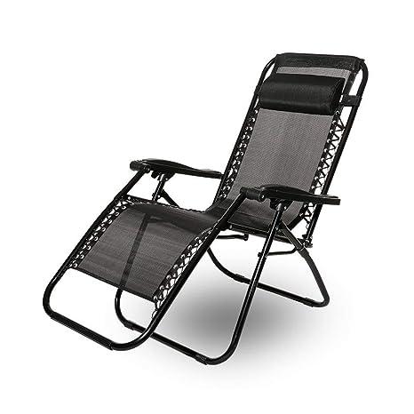 Leisure Zone® Silla Plegable reclinable de Cero Gravedad ...