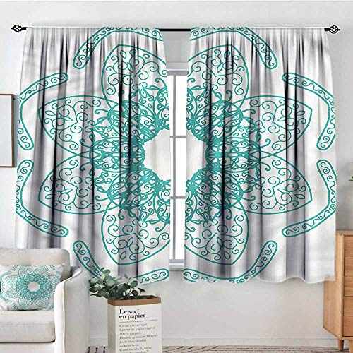 RenteriaDecor Arabesque,Customized Chid Curtains Persian Style Oriental 72