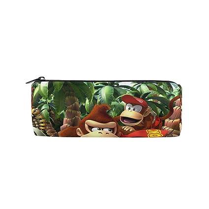 Amazon.com: Creative Forest Animal Monkey Pen Case Drum ...