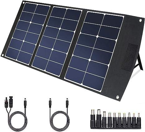 TWELSEAVAN Cargador de Panel Solar portátil Plegable de 60 W y 120 W