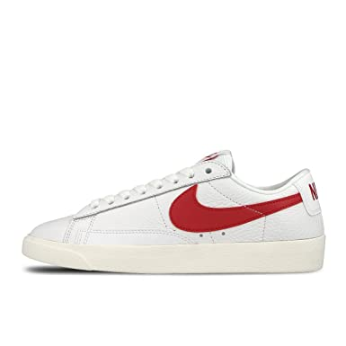 Nike Blazer Low Premium scarpe donna WHITE/GYM RED-WHITE ...