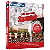 Pimsleur Spanish Quick & Simple Course - Level 1 Lessons 1-8 CD: Learn to Speak and Understand Latin American Spanish with Pimsleur Language Programs