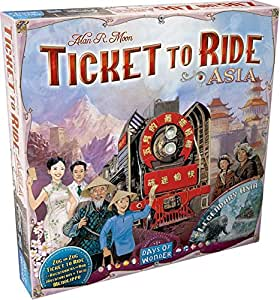 Ticket To Ride Asia: Map Collection - Volume 1