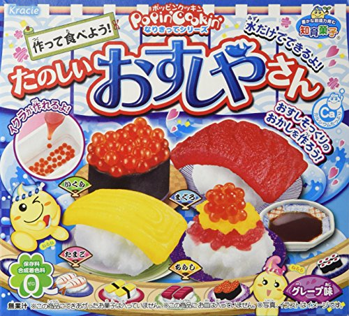 KRACIE POPIN' COOKIN' Happy Kitchen Making Kit (Sushi)