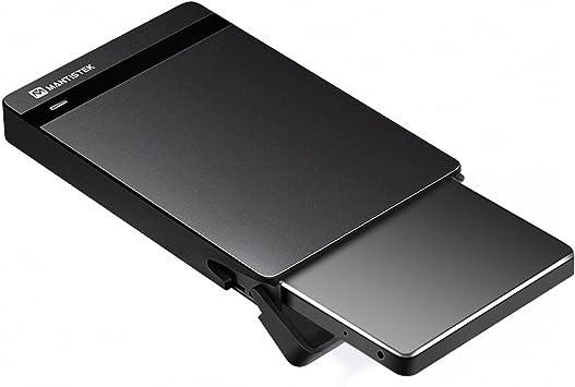mantistek nuevo (2,5, USB 3.0 Caja de disco duro SATA externo HDD ...
