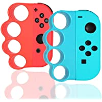 HagieNu Portable Left/Right Boxing Fitness Gaming Finger Clasp Hand Grip Handle for Nintendo Switch Fitness Boxing Games…