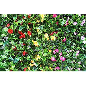 Yatim 2PCS(13FT) Artificial Flowers Ivy Vines Leaf Garland Plants for Hotel Wedding Arch Home Party Garden Craft Art Decor Sunred 5