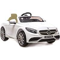 baby&toys Mercedes Akülü Araba 12V Beyaz