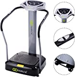 2000Watt / 2500Watt Crazy Fit Massage Vibration Power Plate Machine Oscillating Gym Fitness With CE Certification And2 Free Cords