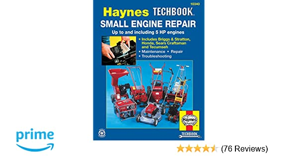 small engine repair manual up to and including 5 hp engines haynes rh amazon com haynes small engine repair manual free download Small Engine Diagram