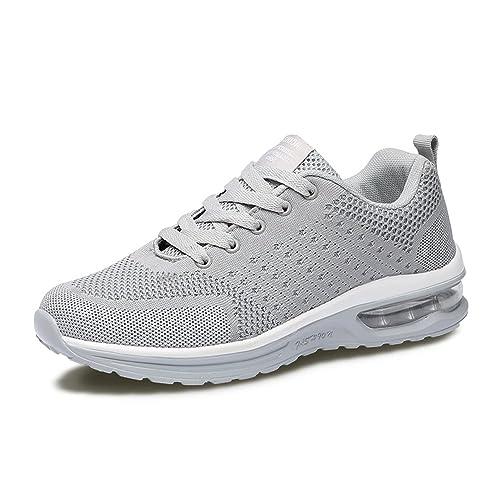Zapatos Mujer Zapatillas para Caminar para Mujeres Zapatos Air Cushion Sports para Mujeres Athletic Ligero: Amazon.es: Zapatos y complementos
