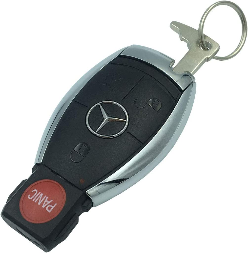 Replacement Keyless Entry Remote Fob Key Shell Case for Mercedes Benz W203 W210 W211 AMG W204 C E S CLS CLK CLA SLK Classe IYZ3312 No Chip