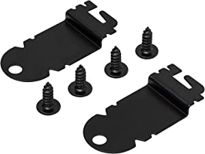MAYITOP 2PCS 8212560 Dishwasher Side Mounting Bracket Kit For Whirlpool & Kenmore 1201084 AP3953705
