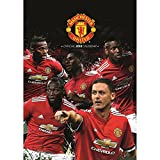 OFFICIAL MANCHESTER UNITED FC PREMIER LEAGUE 2018 WALL CALENDAR (11 INCHES x 17 INCHES) SHIPS FROM USA