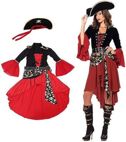 Fernando feliz Disfraz de Pirata de Mujer Disfraz de Fiesta de Fin ...