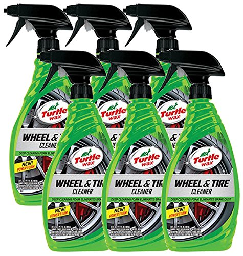 Turtle Wax Heavy Duty All Wheel and Tire Cleaner (23 oz) - Case of 6