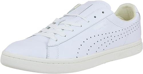 PUMA Court Star Herren Sneaker Schuhe Leder weiß Arztschuhe