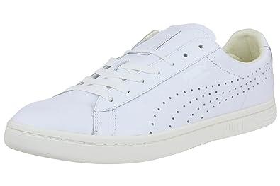 puma sneaker weiß leder