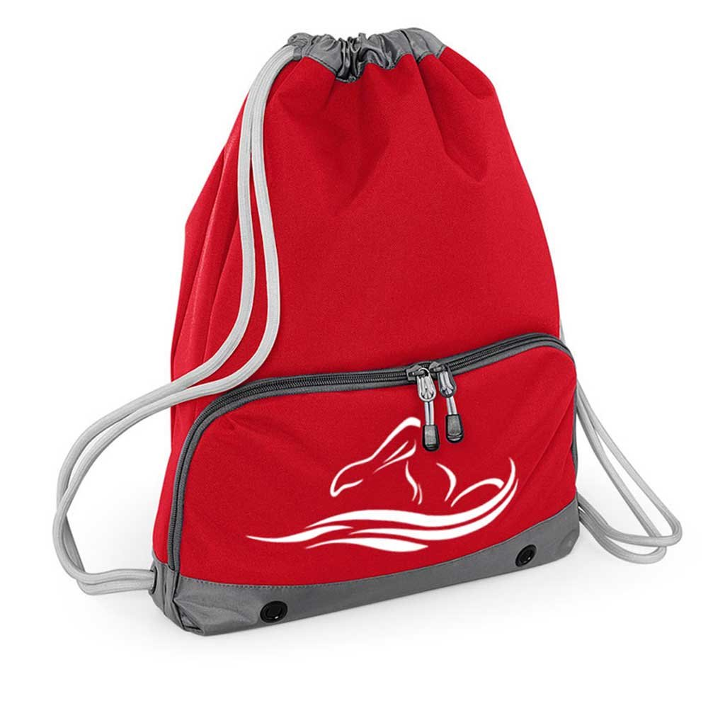 1eea05f499 Good Quality Gym Bag - Swim Bag - Drawstring Backpack - Waterproof - Strong  stitching and thick cords - Handy zipped wet pocket and shoe compartment ...
