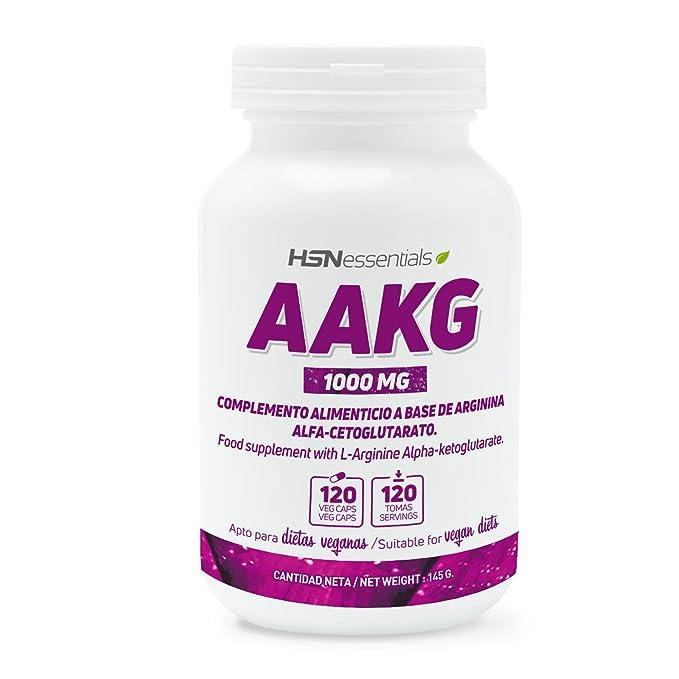 HSN Essentials - ARGININA ALFA-CETOGLUTARATO 1000mg (AAKG) - 120 veg caps