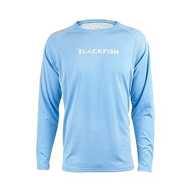 060a0720 BLACKFISH Coolcore Shade Guide Long Sleeve Fishing Shirt at Amazon Men's  Clothing store: