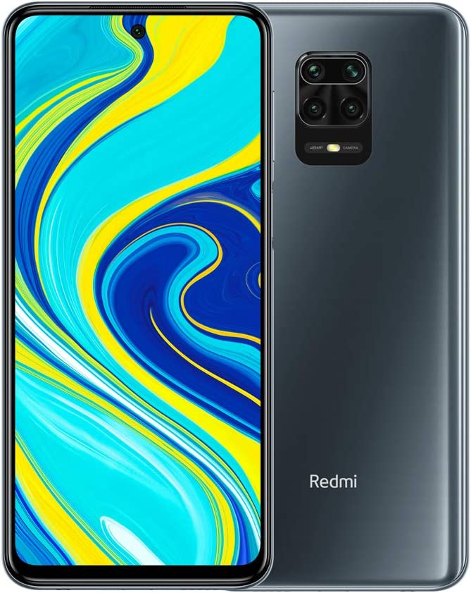 "Xiaomi Redmi Note 9S - Smartphone de 6.67"" FHD+ (DotDisplay, Snapdragon 720G, 6 GB RAM, 128 GB ROM, cámara cuádruple de 48 MP, batería de 5020 mAh) Interstellar Grey [European Version]"