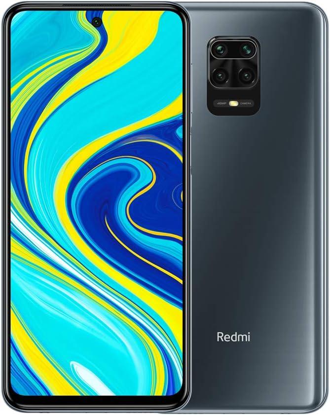 """Xiaomi Redmi Note 9S - Smartphone de 6.67"""" FHD+ (DotDisplay, Snapdragon 720G, 6 GB RAM, 128 GB ROM, cámara cuádruple de 48 MP, batería de 5020 mAh) Interstellar Grey [European Version]: Amazon.es: Electrónica"""