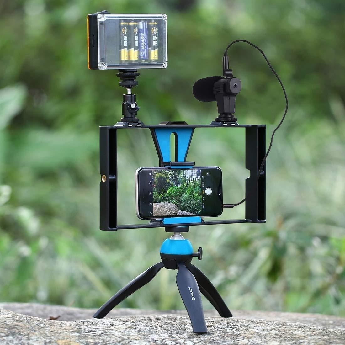 CX AMZ Soporte de rodaje,Jaula móvil para la filmación de Videos ...