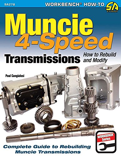 Muncie 4-Speed Transmissions: How to Rebuild & Modify (Sa Design)