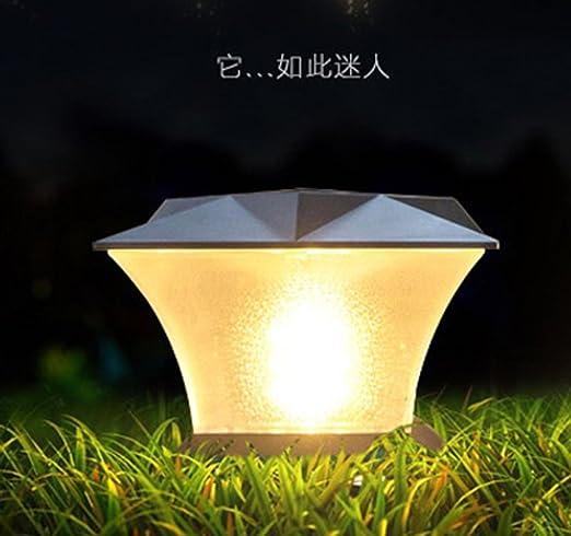 Lámpara Ahorra LED solar lámpara lámpara solar jardín IYfgv67yb