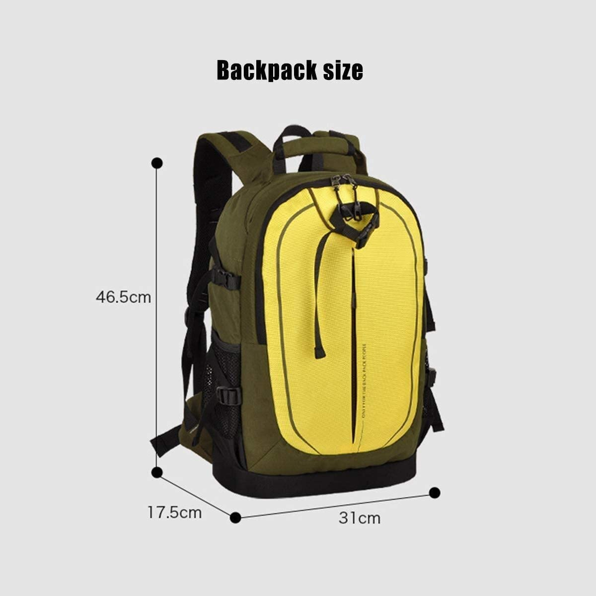 Waitousanqi Fashion Travel SLR Backpack Mens Womens Anti-Theft Large-Capacity Camera Reception Camera and Tripod Accessories Large-Capacity Backpack 31 X 17.5 X 46.5CM Blue A15