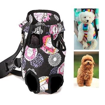 Mochila Para Transportistas De Mascotas, Mochila Ajustable Para Perros Para Mascotas, Para Pequeñas Y