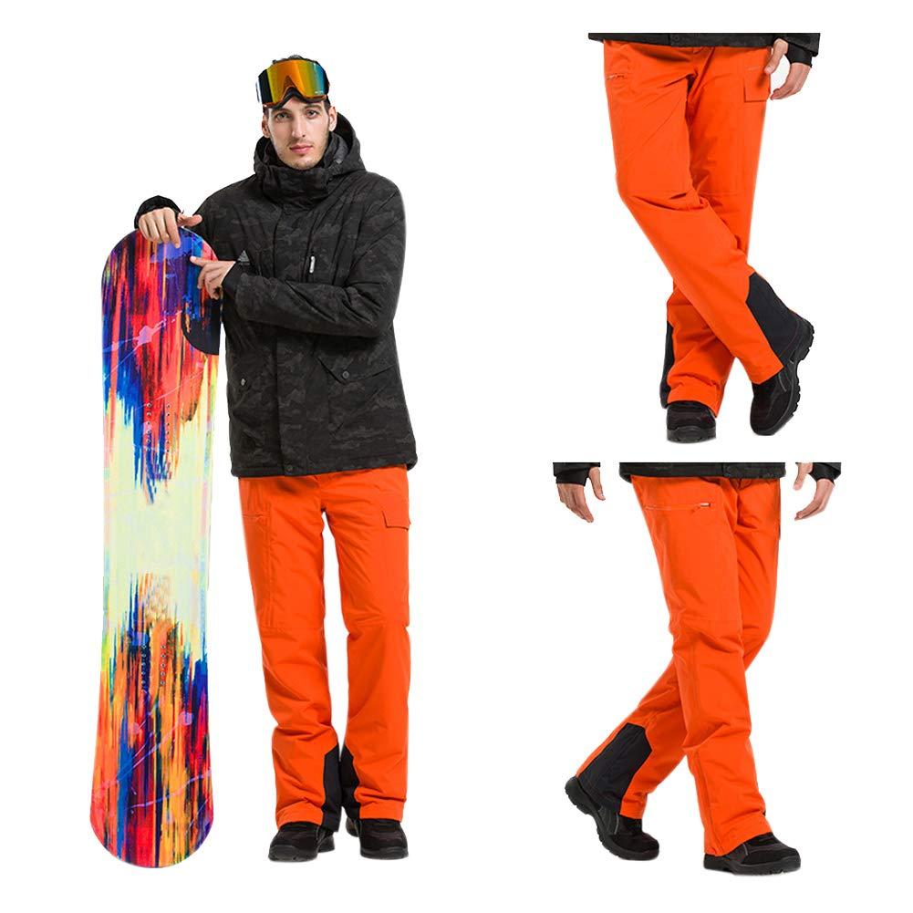 Deylaying Herren Skihose - Winter Wasserdichte Hose Winddicht Schneehose Tragen Sie Beständig Ski Snowboard Softshellhose