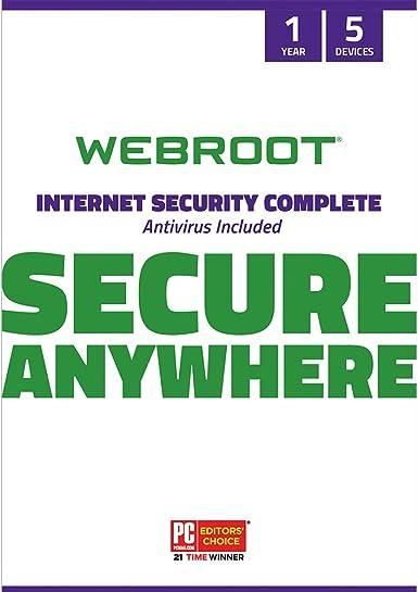 Webroot Complete Security