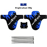 Colorful Bicycle Fenders Lightest MTB Front Mudguards Tire Tyre Mud guard for Mountain BMX Racing Touring Road Bike Parts 2 pcs of a set
