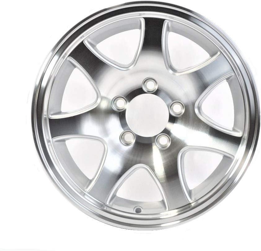 2-Pack eCustomrim Trailer Wheel Rim 13X5 5-4.5 Aluminum 7 Spoke 1660 Lb.